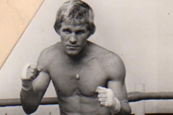 Freddy Koopmans is een oud professioneel bokser